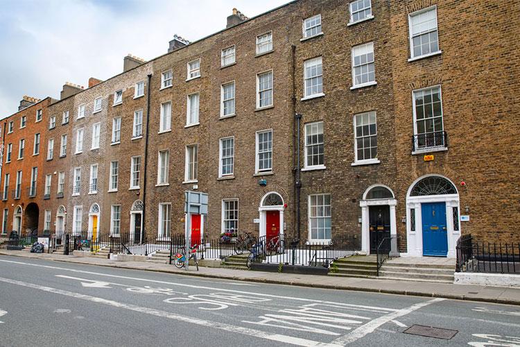 casa tradicional irlandesa