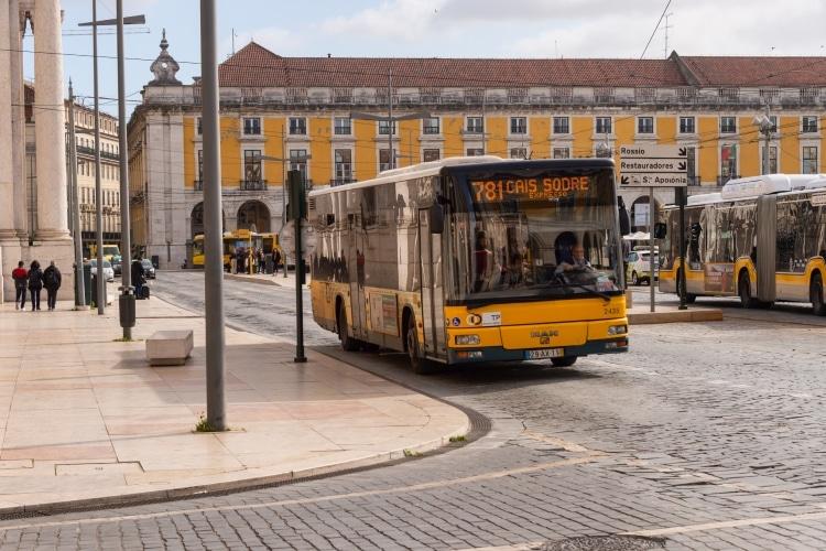 Autocarro em Lisboa