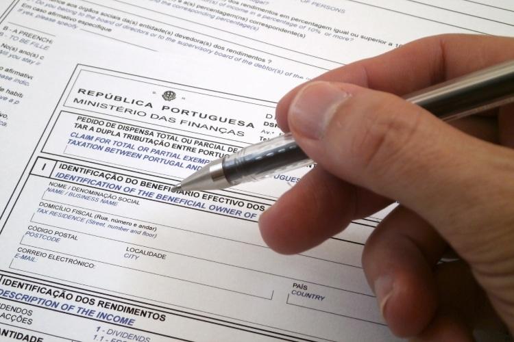 Formulário Finanças