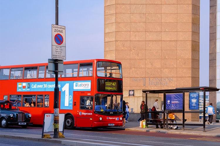 transporte público inglês