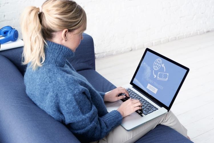 Enviar dinheiro para o exterior online