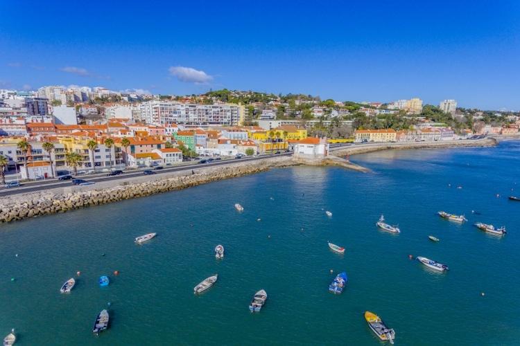 Oeiras Portugal vista panorâmica