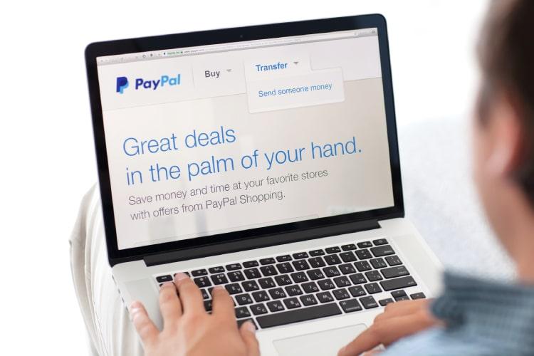 Enviar dinheiro para o exterior pelo PayPal