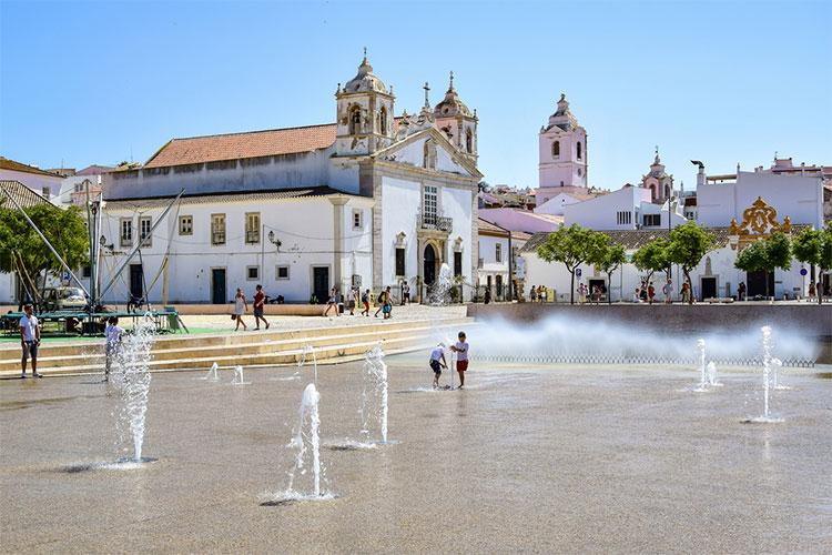 Lagos cidades pequenas portuguesas