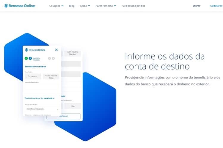 Remessa Online vale a pena dados destino