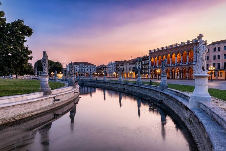 estudar em Pádua na Itália