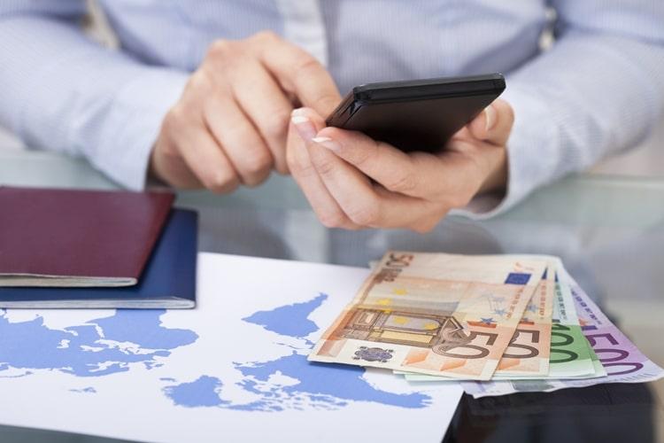 Quanto dinheiro levar para Europa