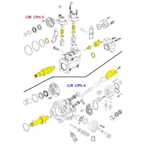 Miscella: Bosch High Pressure Fuel Pump Repair Kit