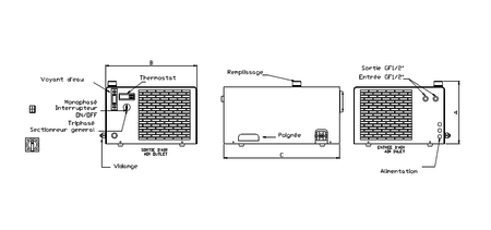 Glycol Refrigeration System Diagram, Glycol, Free Engine