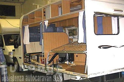 Riparazioni camper caravan autocaravan roulottes EURODUE S