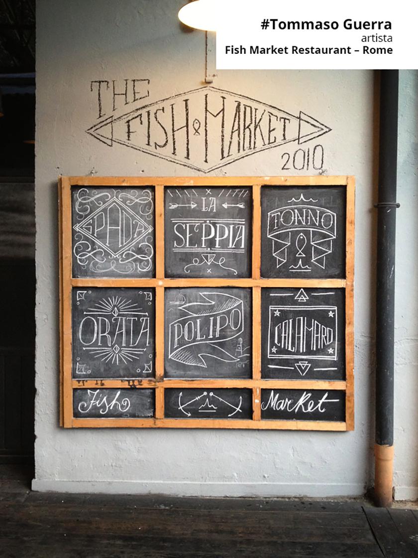Come disegnare menu alla lavagna per ristoranti bar pasticceria