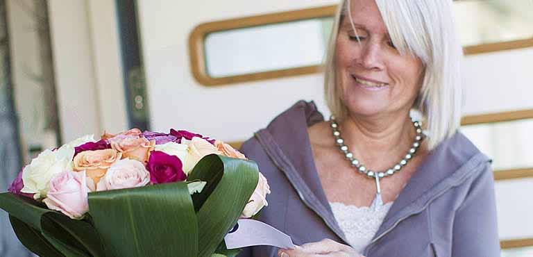 Blumen zur Genesung verschicken