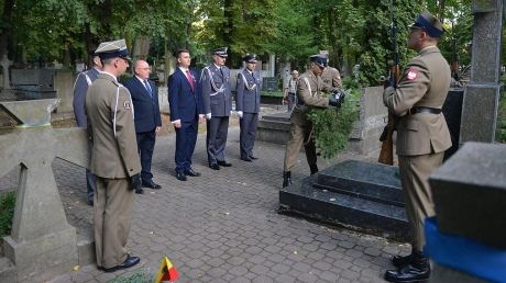 В Міноборони Польщі поклали квіти до пам'ятників воїнам УНР