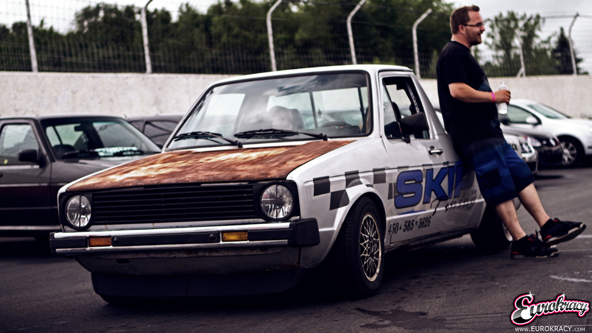 Eurokracy Montreal Euro Car Show Vw Mk2 Caddy Skip Tuning 008