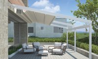 Outdoor Shelter With Retractable Awnings | Eurola Australia