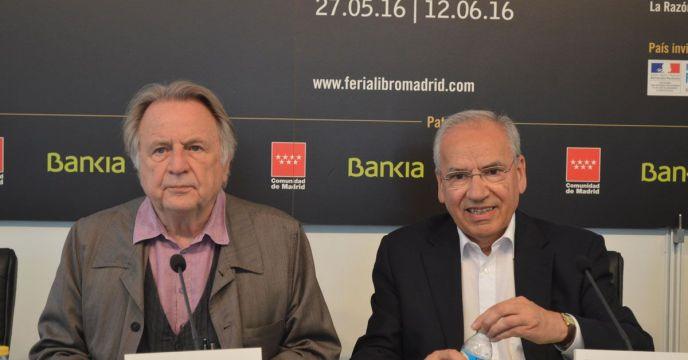 Regis Debray en la Feria Del Libro Madrid