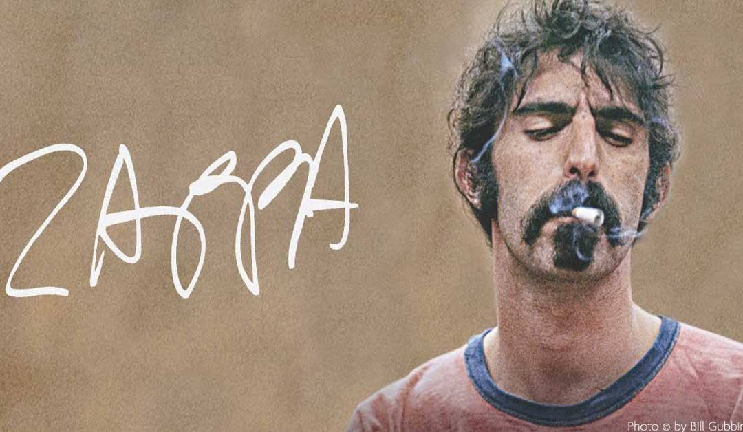 """Frank Zappa era un real patriota estadounidense"""