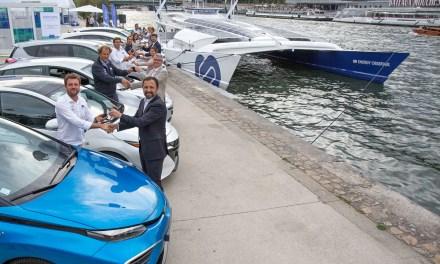 Toyota colabora con la aventura del primer barco del mundo alimentado con hidrógeno
