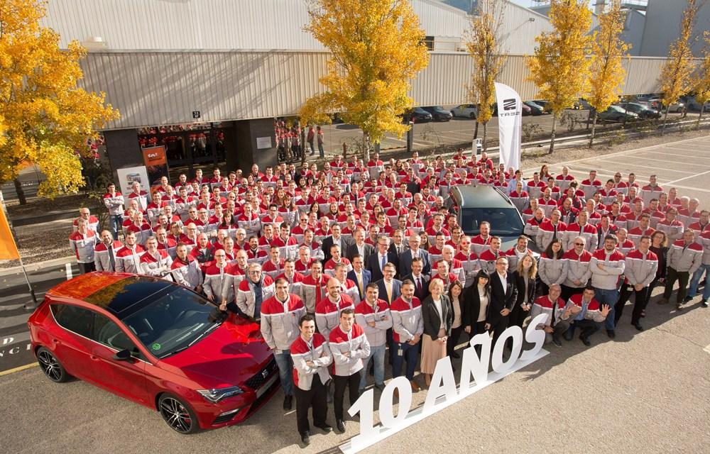 10 años del Centro de Prototipos de SEAT