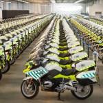 Estas son las nuevas motos BMW de la Guardia Civil de Tráfico