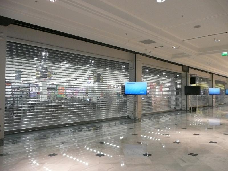 rideaux de protection transparent