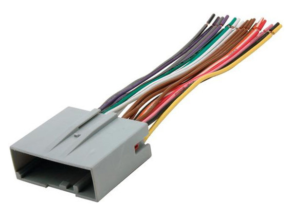 Radio Wiring Adapter Factory Harness To Aftermarket Stereo Head Ebay