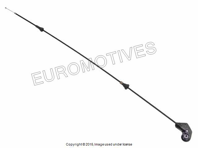 BMW e46 Hood Release Mechanism Cable OEM new engine lid