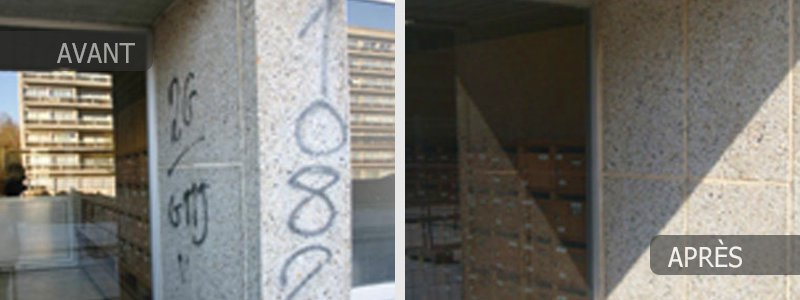 nettoyage et traitement anti-graffitis à Bruxelles