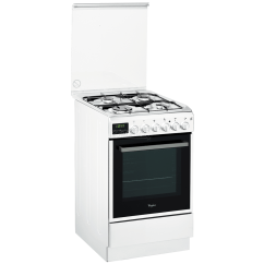 Beko Cooker Wiring Diagram Cat5 Wall Socket Uk Gas With Electric Oven Whirlpool 50 Cm Acmt5131 Wh