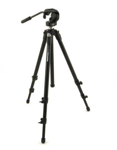 Manfrotto Tripod and Micro Fluid Head 055XDB,128RC ON SALE
