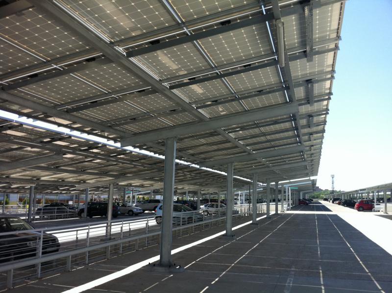 EUROPA PREFABRI fabrique des marquises photovoltaiques