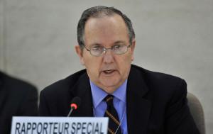 El relator especial sobre tortura, Juan Méndez. Foto: ONU