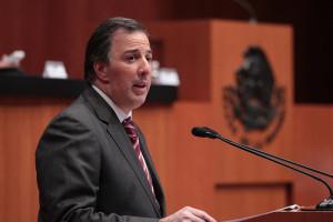 El canciller José Antonio Meade. Foto: SRE