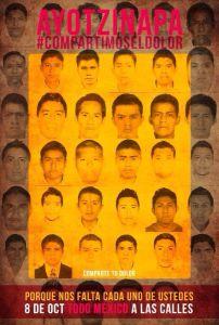 Desaparecidos de Ayotzinapa