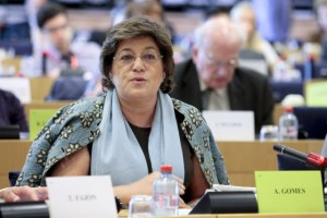 La eurodiputada Ana Gomes