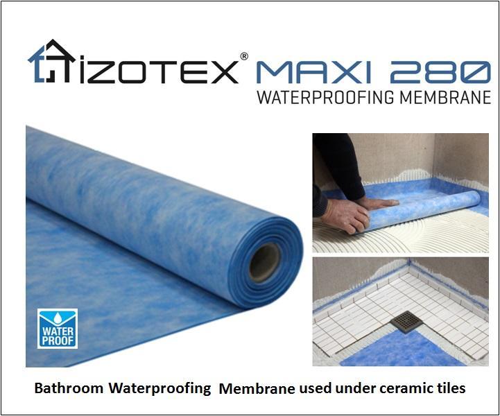 izotex maxi 280 bathroom waterproofing