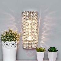 Sparkling Kylian crystal wall lamp, Wall Lights, LIGHTS.CO ...