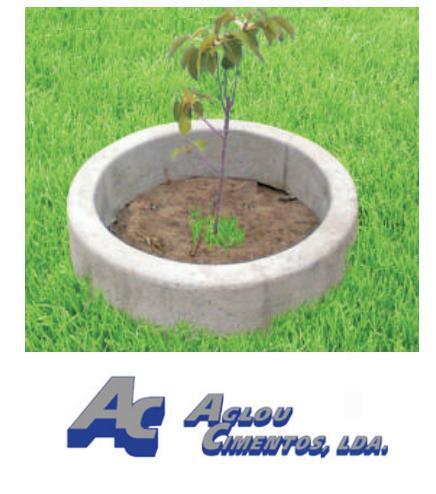 bordure en beton pour arbres aglou