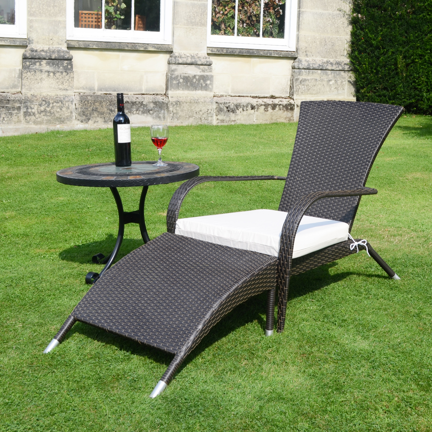 patio chairs with footrests wheelchair access width tarifa garden chair and footrest