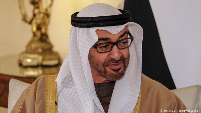 رجل الإمارات القوي محمد بن زايد في برلين لبحث تعزيز العلاقات مابين البلدين