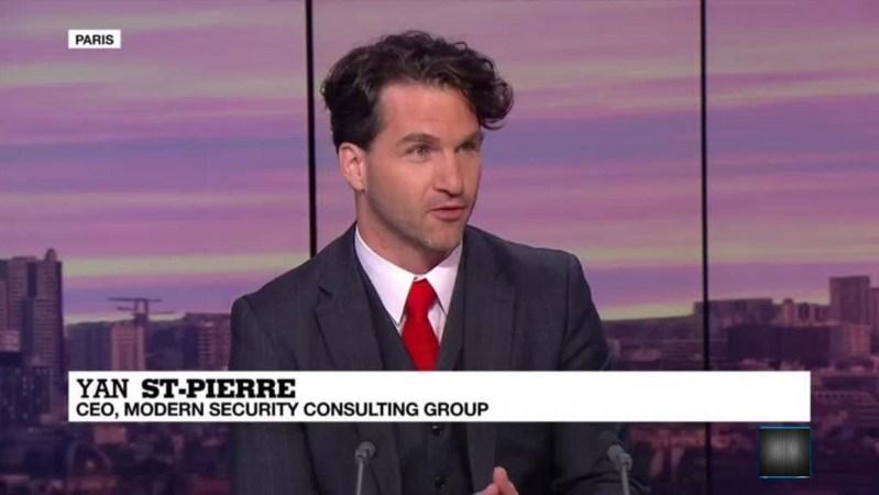 Dr Yan St Pierre CEO Counter Terrorism Advisor