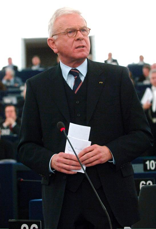 EP-Präsident Pöttering