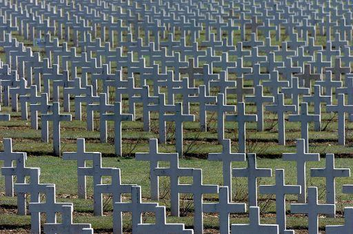 "Cementerio militar de la ""Gran Guerra"" en Verdún   ©BELGA_MAXPPP_Alexandre MARCHI"