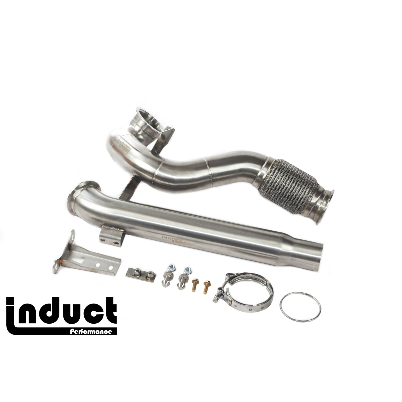 Induct Mk7 Mqb Fwd Downpipe Exhaust For Mk7 Gti Golf And