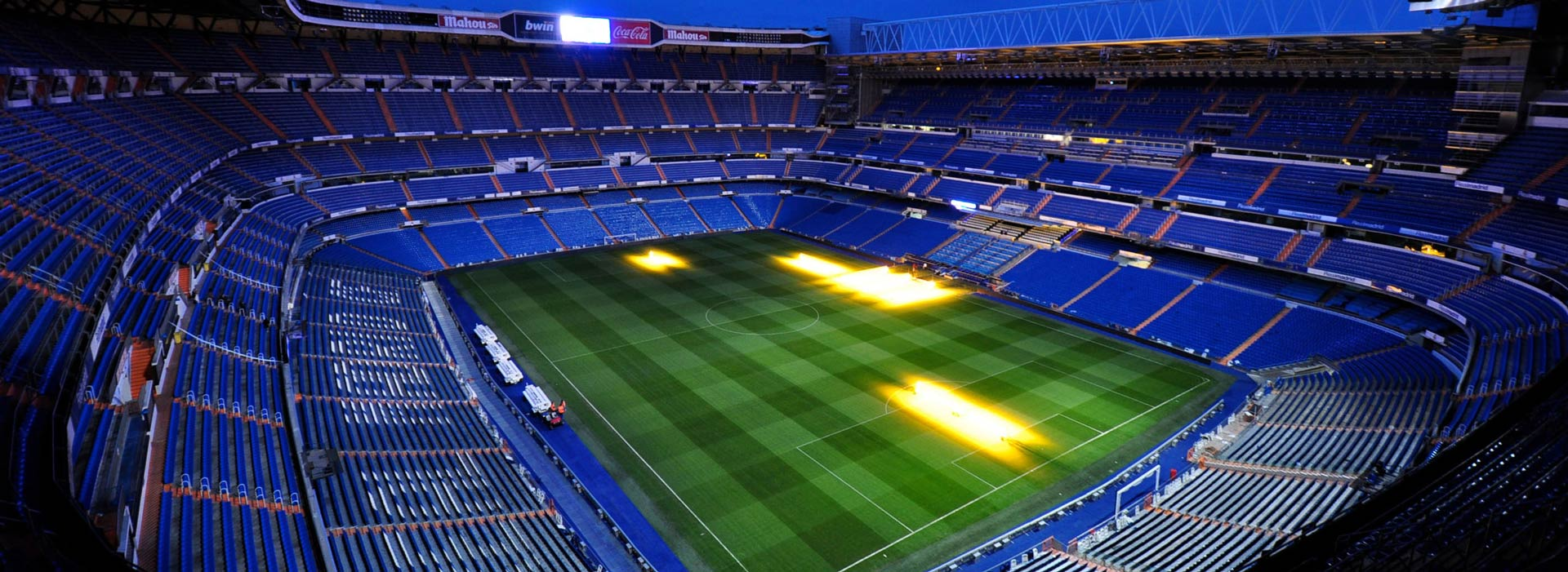 Visita Estadio Santiago Bernabu slo entrada  Europatours