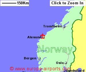 Alesund Vigra Airport Norway AES Guide Flights
