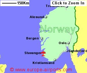Stavanger Airport Norway SVG Guide amp Flights
