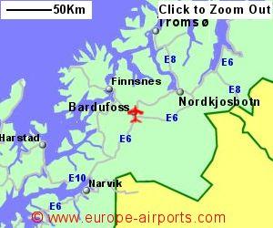 Bardufoss Airport Norway BDU Guide amp Flights