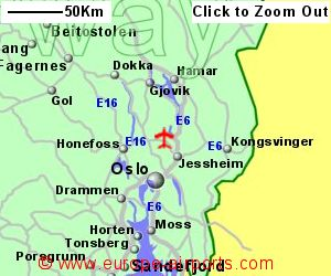 Oslo Gardermoen Airport Norway OSL Guide amp Flights