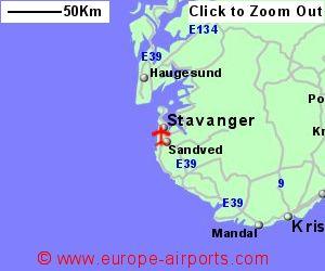Stavanger Airport Norway SVG Guide Flights